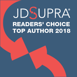 JD Supra Readers Choice Top Author 2018