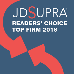 JD Supra Readers Choice Top Firm 2018