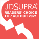 JD Supra Readers Choice Top Author 2021